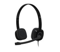 (1008428) Наушники с микрофоном Logitech Headset H151, Stereo, mini jack 3.5mm, (981-000589)