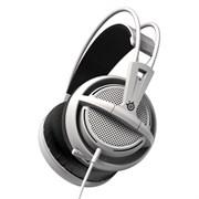 (1008449) Наушники с микрофоном Steelseries Siberia 200 белый 1.8м мониторы (51132)