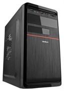 (1008536) Корпус VELTON 7808A-Red mATX (400W 80mmFan) BLACK+RED, USB3.0+audio