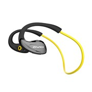 (1008370) Гарнитура bluetooth Awei A880BL (yellow)