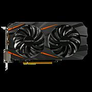 (1008650) Видеокарта Gigabyte PCI-E GV-N1060WF2OC-6GD NV GTX1060 6144Mb 192b GDDR5 1582/8008 DVIx2/HDMIx1/DPx1