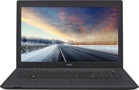 "(1008661) Ноутбук Acer TravelMate TMP278-MG-57CV Intel Core i5 6200U, 6Gb, 1Tb, nVidia GeForce  GT 940M 2Gb, 17.3"", HD+ (1600x900), Linux, Black, DVD-RW, WiFi, BT, Cam (NX.VBRER.002)"