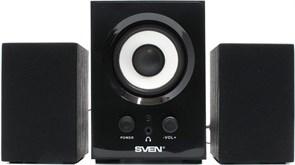 (82603) Колонки Sven MS-80 (2.1) 5 + 2х1 Вт, цвет черный