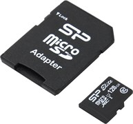 (174925) Карта памяти 128Gb microSDXC Silicon Power Elite (SP128GBSTXBU1V10SP), Class 10, UHS-1, RTL