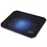 """(1008720) Подставка для ноутбука CROWN CMLC-M10 (Для ноутбуков диагональю до 17"""", подсветка, 1*кулер D140*15мм)"""