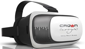 (1008716) Очки виртуальной реальности для смартфона CROWN CMVR-003 (Для смартфонов диагональю 3.5 - 6, регулировка линз под каждый глаз, угол обзора в 92-98°)