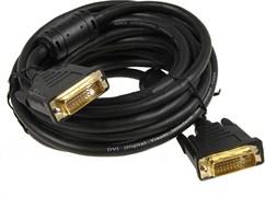 (1008749) Exegate EX257296RUS Кабель DVI dual link (25M-25M) 5м Exegate, позолоченные контакты