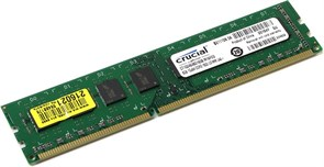 (1008758) Память DDR3L 8Gb 1600MHz Crucial CT102464BD160B RTL PC3-12800 CL11 DIMM 240-pin 1.35В