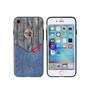 (1008814) Накладка REMAX Sinche series для iPhone 7 (grey+jeans)
