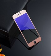 (1008812) Стекло защитное 3D Curved Anti-Blue Ray REMAX для iPhone 7 (rose gold)