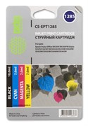 (1001573) Комплект картриджей Cactus CS-EPT1285 для Epson Stylus S225; Office BX305, 4 картриджа по 10мл
