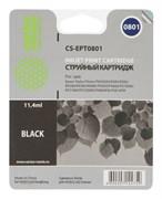 (3331355) Картридж струйный CACTUS CS-EPT0801 черный для принтеров Epson Stylus Photo P50, 300 стр., 11 мл.