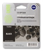 (3331216)  Картридж струйный CACTUS CS-EPT264 черный для принтеров Epson Stylus Photo 810