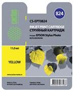 (3330241) Картридж струйный CACTUS CS-EPT0824 желтый для принтеров Epson Stylus Photo R270/ 290/ RX590, 460 стр., 11 мл.