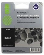 (3330270)  Картридж струйный CACTUS CS-EPT0921 черный для принтеров Epson Stylus C91/  CX4300/  T26/  T27/  TX106/  TX109/  TX117/  TX119, 7.4 мл