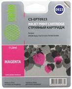 (3330272)  Картридж струйный CACTUS CS-EPT0923 пурпурный для принтеров Epson Stylus C91/  CX4300/  T26/  T27/  TX106/  TX109/  TX117/  TX119, 5.5 мл