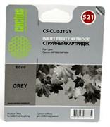 (1001569) Картридж Cactus CS-CLI521GY для Canon Pixma MP980/ MP990, серый, 1395 стр., 8.4 мл.
