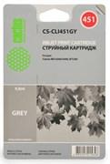 (1001566) Картридж Cactus CS-CLI451GY для Canon MG 6340/ 5440 IP7240 серый