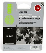 (3330991)  Картридж струйный CACTUS CS-PG37 черный для принтеров Canon PIXMA iP1800/ iP2500/ iP2600, MP210/ 220, MX300/ 310