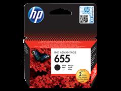 (3331205) Картридж струйный  НР CZ109AE №655 черный, для принтеров HP DJ IA 3525/ 5525/ 4615/ 4525, 550 стр
