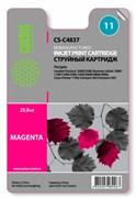 (1002408) Картридж струйный Cactus CS-C4837 №11 пурпурный для HP 2000/2500/1000/1100/1200 (1800стр.)