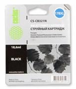 (3331209) Картридж струйный Cactus CS-CB321N(CS-CB321) №178XL черный (17.0мл) для HP PS B8553/C5383/C6383/D546