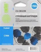 (3331210) Картридж струйный Cactus CS-CB323N голубой для №178XL HP PhotoSmart B8553/ C5383/ C6383/ D5463 (14,6)