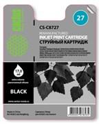 (1002411) Картридж струйный Cactus CS-C8727 №27 черный для HP DeskJet 3320/3325/3420/3425/3520