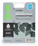 (3331211) Картридж струйный Cactus CS-CH563 №122XL черный (18мл) для HP DJ 1050/2050/2050s
