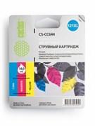 (3330774) Картридж струйный Cactus CS-CC644 №121XL многоцветный (18мл) для HP DJ D1663/D2500/D2563/D2663/D5563