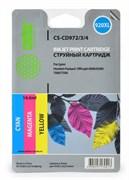 (1001597) Комплект цветных картриджей Cactus №920XL СS-CD972/3/4 для HP Officejet 6000/ 6500/ 7000/ 7500