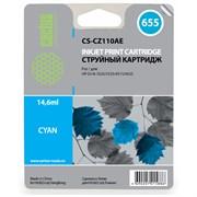 (3331441) Картридж CACTUS № 655 (голубой) для принтеров HP DJ IA 3525/ 5525/ 4515/ 4525