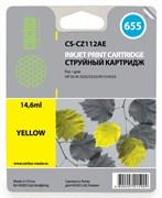 (3331443) Картридж CACTUS № 655 (желтый) для принтеров HP DJ IA 3525/ 5525/ 4515/ 4525