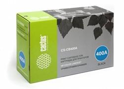 (3330734)  Картридж лазерный CACTUS CS-CB400A черный для принтеров HP CLJ CP4005,7500стр