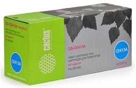 (1008264) Тонер Картридж Cactus CS-CE413A пурпурный для HP CLJ Pro 300/400/M351 (2600стр.)