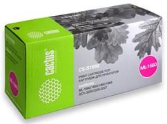 (3330288) Картридж лазерный CACTUS CS-S1660 (D104S) черный, для принтеров Samsung ML-1660/ 1665; SCX-3205 , 1500 стр.