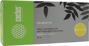 (3330223)  Картридж лазерный CACTUS CS-WC3119 черный для принтеров Xerox WorkCentre 3119, 3000 стр.