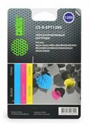 (1001554) Комплект перезаправляемых картриджей CACTUS CS-R-EPT1295 для Epson Stylus Office B42/ BX305/ BX305F