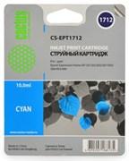 (1002399) Картридж струйный Cactus CS-EPT1712 голубой для Epson Expression Home XP-33/103/203/207/303 (450стр.