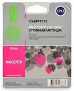 (1002400) Картридж струйный Cactus CS-EPT1713 пурпурный для Epson Expression Home XP-33/103/203/207 (450стр.)