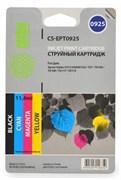 (1001036) Комплект картриджей Cactus CS-EPT0925 для принтеров Epson Stylus C91/ CX4300/ T26/ T27/ TX106/ TX109/ TX117/ TX119, 4 картриджа по 5,5мл