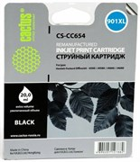 (1006212) Картридж струйный Cactus CS-CC654 №901 черный для HP DJ 4500/J4580/J4660/J4680 (18мл)