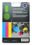 (1001548) Заправка для перезаправляемых картриджей CACTUS CS-RK-EPT1292-4 для Epson Stylus B42, цветная, 3x30