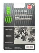 (1002391) Заправка для перезаправляемых картриджей CACTUS CS-RK-CAN520 для Canon PIXMA MP540, черная, 2x30мл