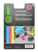 (1002392) Заправка для перезаправляемых картриджей CACTUS CS-RK-CAN521 для Canon PIXMA MP540, цветная, 4x30мл