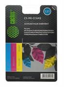 (1004535) Заправочный набор Cactus CS-RK-CC643 цветной (3x30мл) HP DeskJet D1663/D2563; PhotoSmart C4683/C4783