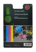 (1004540) Заправочный набор Cactus CS-RK-CLI451 цветной (4x30мл) Canon MG 6340/5440/IP7240