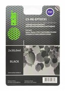 (1005074) Заправка для ПЗК Cactus CS-RK-EPT0731 черный (2x30мл) Epson Stylus С79/C110