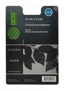 (1007000) Заправочный набор Cactus CS-RK-CZ109 черный 60мл для HP DJ IA 3525/5525/4515/4525