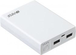 (1008862) Мобильный аккумулятор Hiper RP10000 Li-Ion 10000mAh 2.1A+1A белый 2xUSB